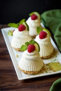 Mini Frozen Key Lime Pies Recipe
