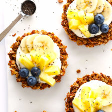 Mini Granola Tart Cups Recipe