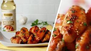 Miso-Glazed Sesame Chicken Wings Recipe