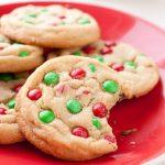Christmas M&M Cookies Recipe