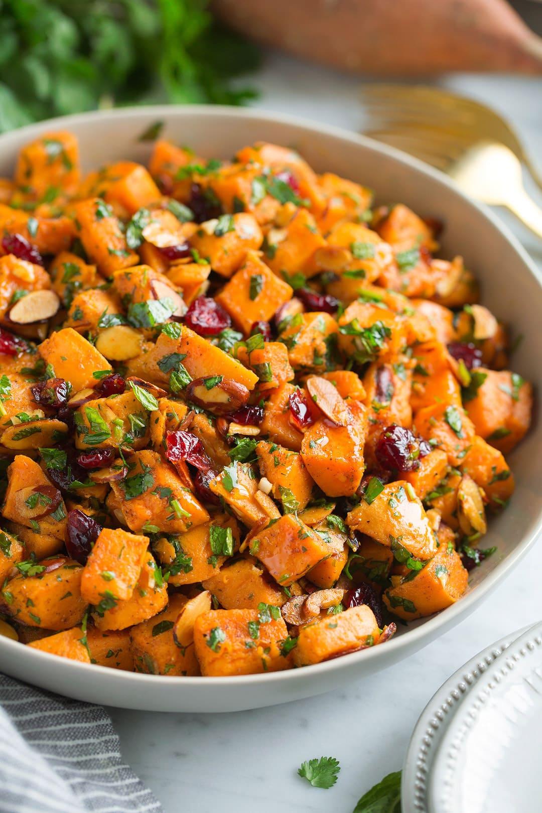 Moroccan Sweet Potato Salad Recipe