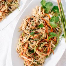 Healthy No Noodle Pad Thai Recipe