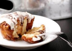 No-Yeast Choc Chip Cinnamon Rolls Recipe