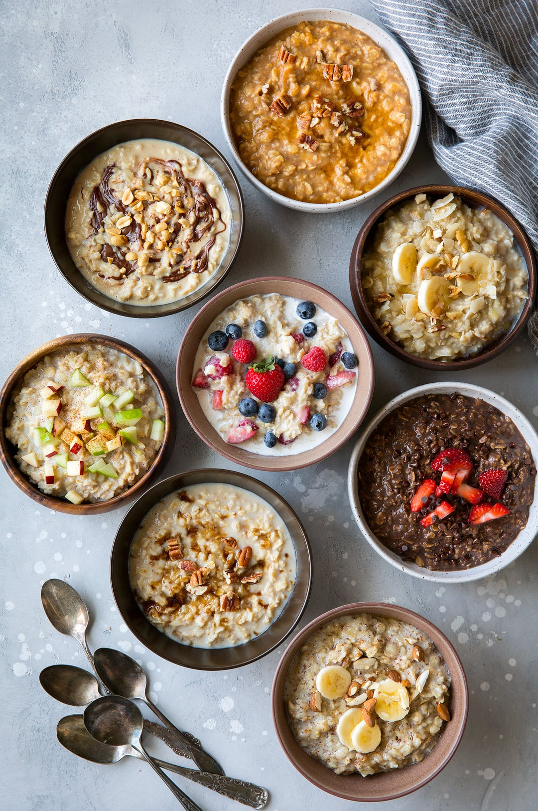Oatmeal in Eight Ways Recipe