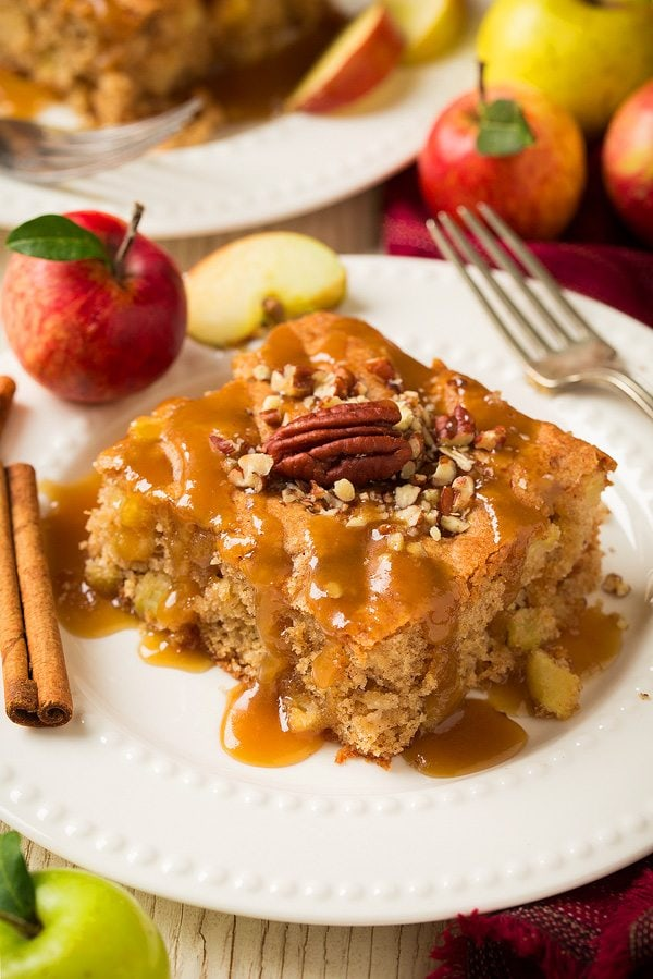 Old Fashioned Warm Apple Cake Recipe
