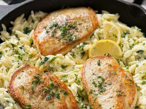 one pot chicken with creamy spinach artichoke pasta recipe