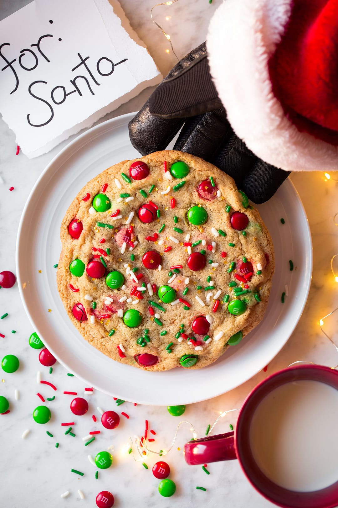 Quick and Easy One Santa Cookie Recipe