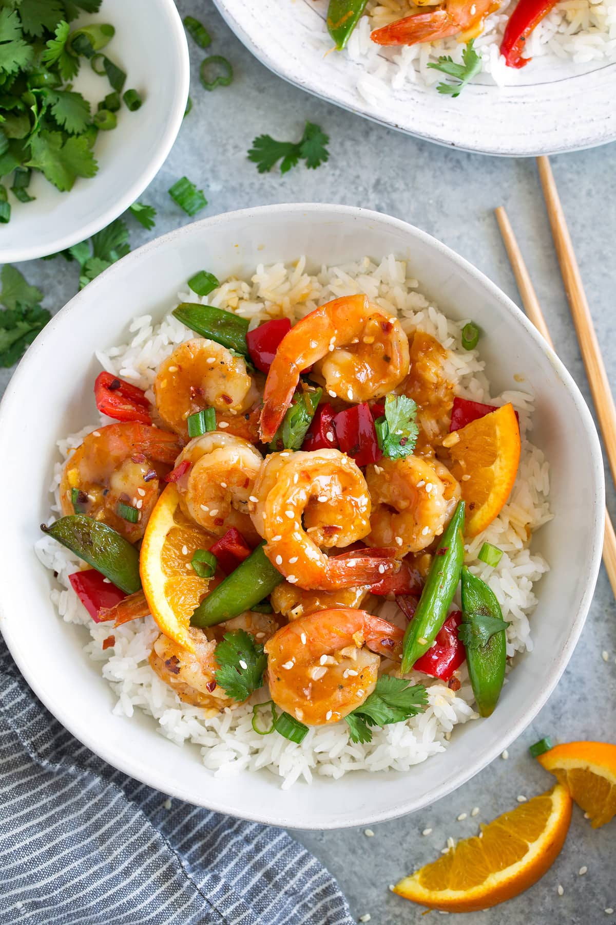 Orange Garlic Shrimp Recipe