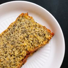 Orange Poppy Seed Pound Cake Recipe
