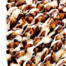 Overnight Cinnamon Roll Casserole Recipe