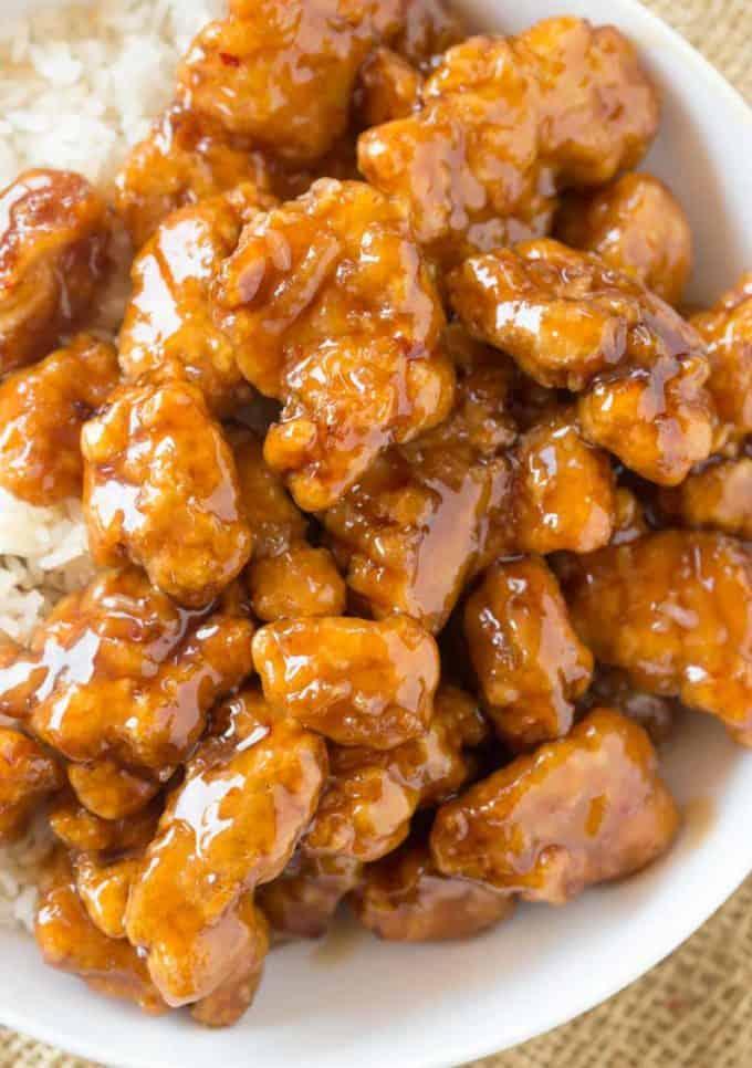 Copycat Panda Express Orange Chicken Recipe