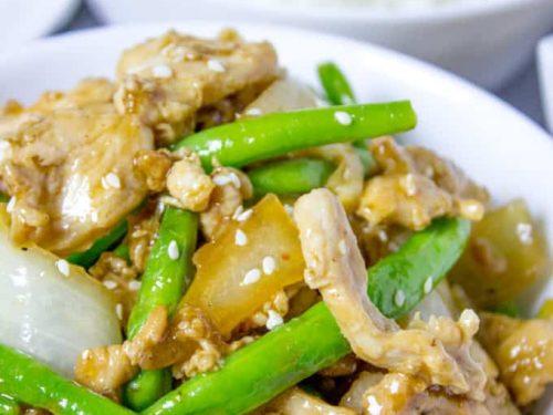 Copycat Panda Express String Bean Chicken Breast Recipe