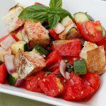 panzanella (italian bread salad) recipe