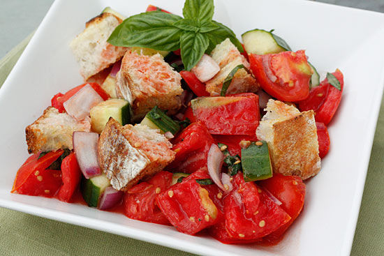 Panzanella (Italian Bread Salad) Recipe