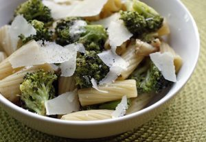 Pasta with Roasted Broccoli, Garlic and Oil Recipe