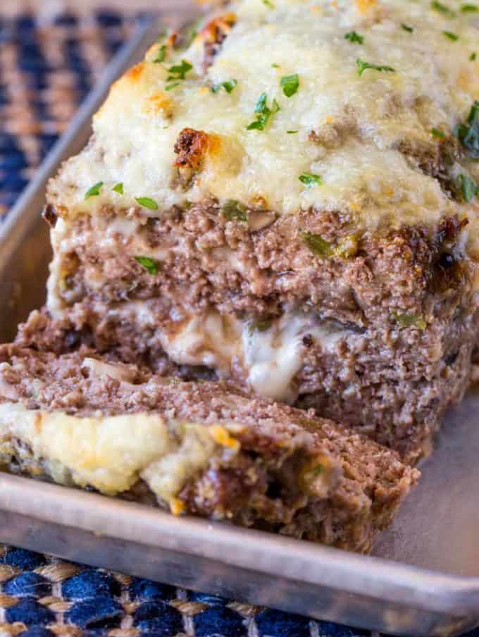 Philly Cheesesteak Meatloaf Recipe