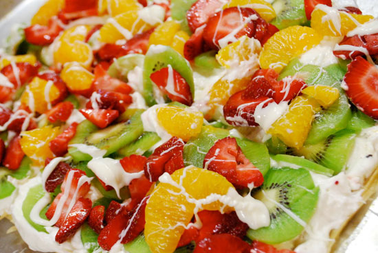Phyllo Fruit Tart Recipe