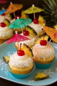 Piña Colada Cupcakes Recipe