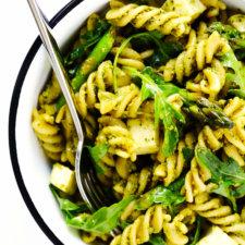 Pistachio Pesto Pasta Salad Recipe