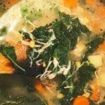 potato, corn, and kale soup recipe