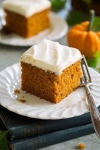 Simple Pumpkin Cake Recipe
