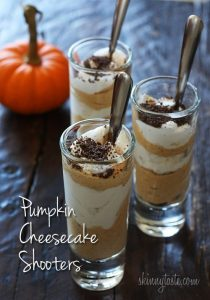 Pumpkin Cheesecake Shooters Recipe