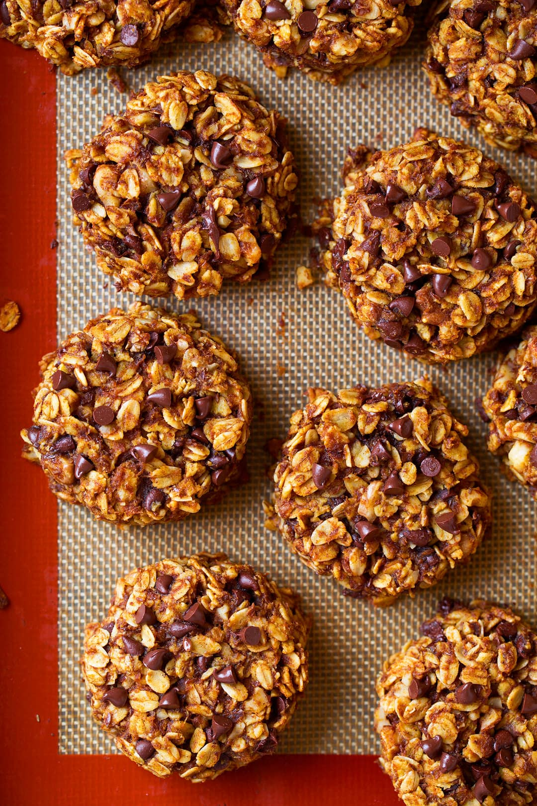 Pumpkin Oat Chocolate Chip Breakfast Cookies Recipe