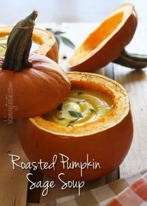 Roasted Pumpkin Sage Soup Recipe