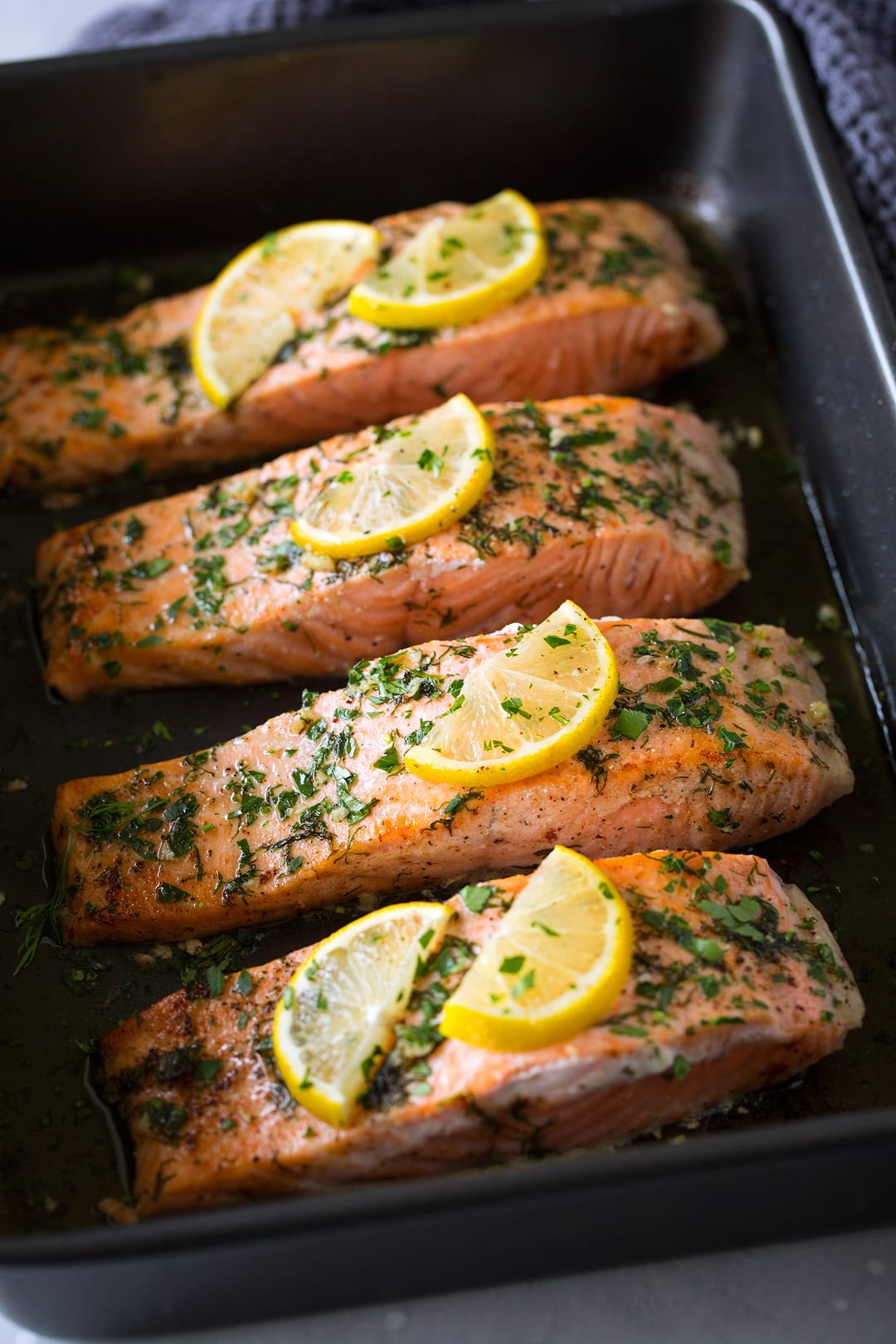 Salmon Roasted in Butter Recipe
