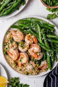 Shrimp, Peas, and Rice Recipe