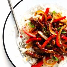 Sizzlin' Spicy Szechuan Stir-Fry Recipe