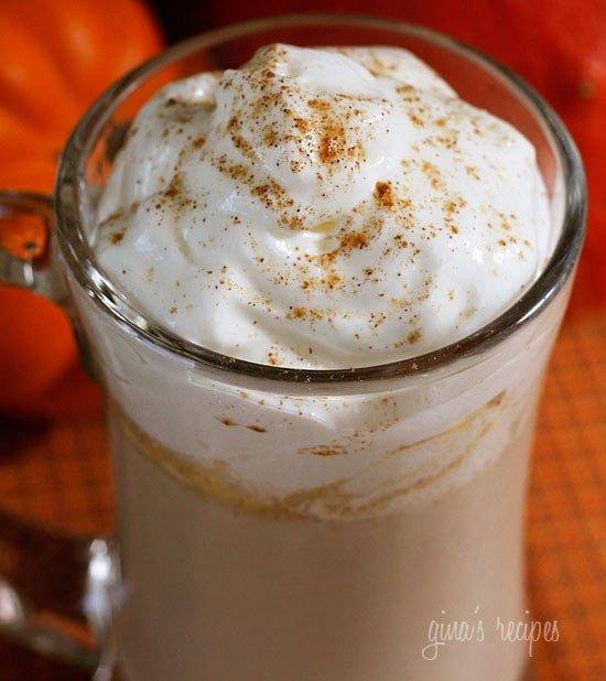 Low Fat Pumpkin Spice Latte Recipe