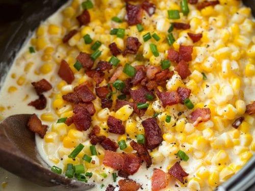 slow cooker creamed corn recipe