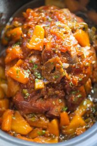 Slow Cooker Jalapeno Pineapple Pork Recipe