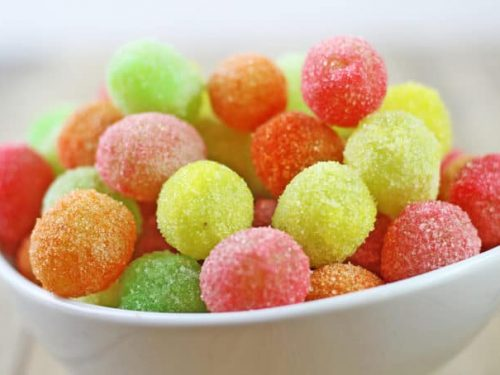 sour patch grapes - healthier than the candy! recipe