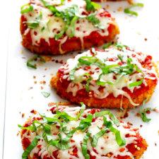 Spicy Baked Chicken Parmesan Recipe