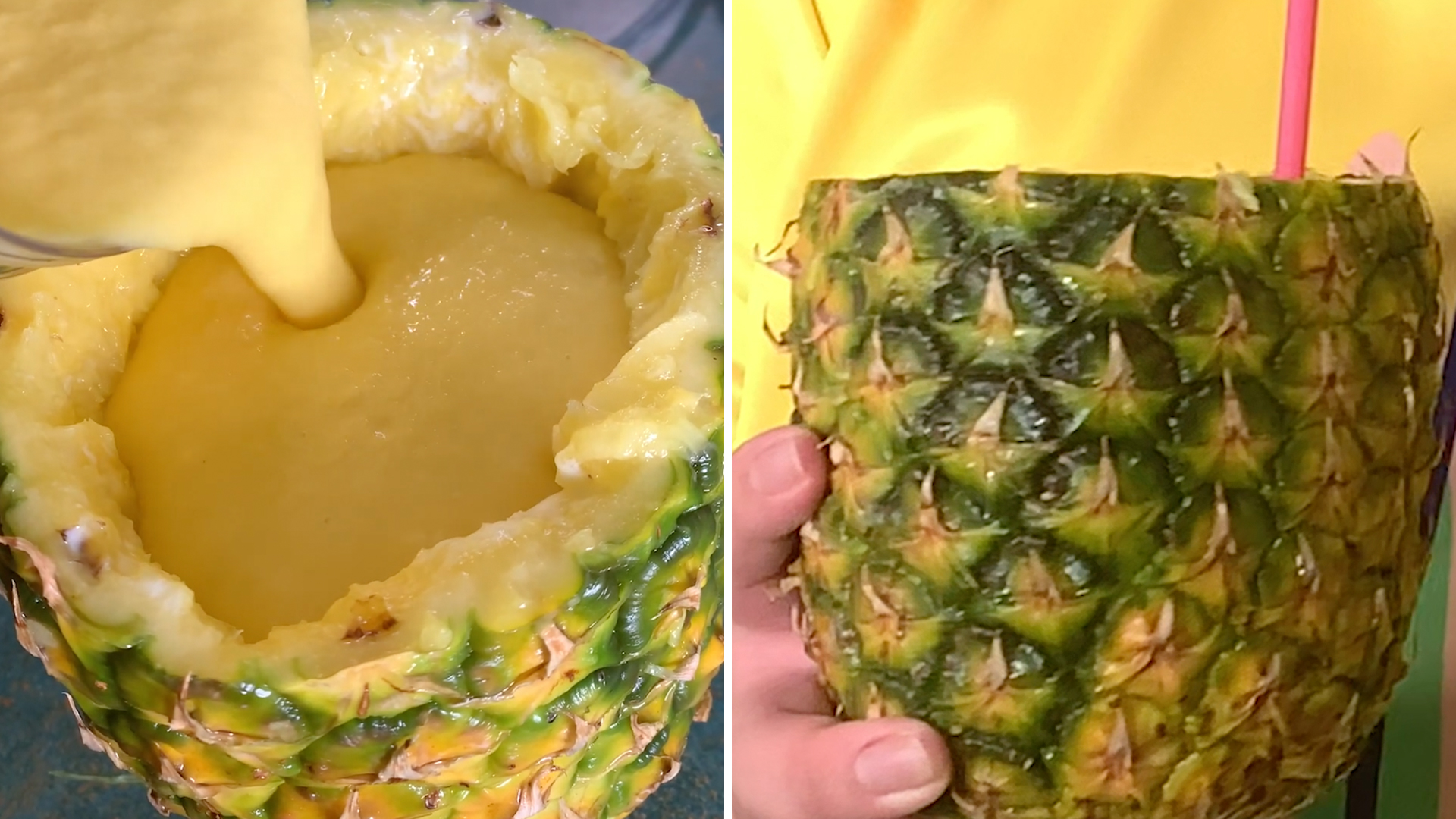 Spiked Pineapple Mango Smoothie Recipe