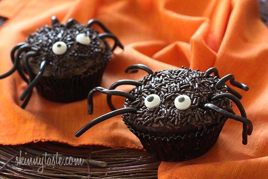Spider Halloween Cupcakes Recipe