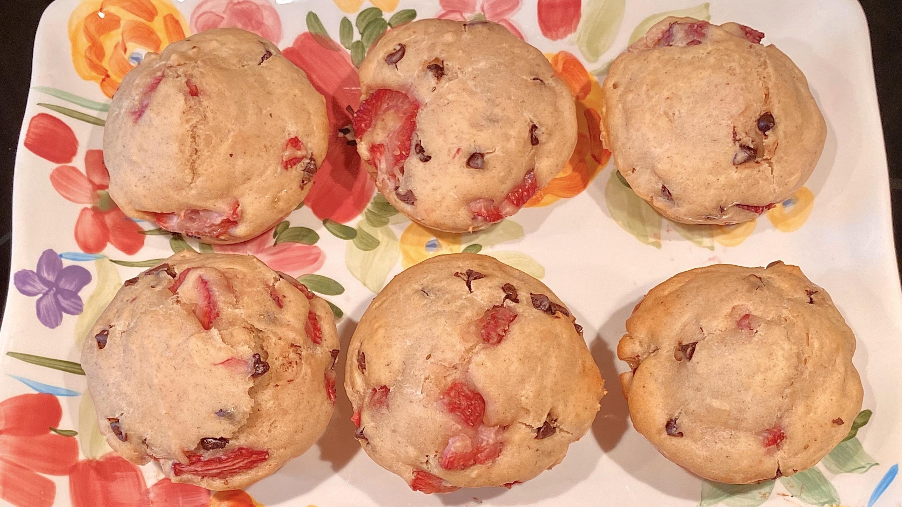 Springtime Strawberry Chocolate Chip Muffins Recipe