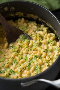 Stove Top Broccoli Mac and Cheese Recipe