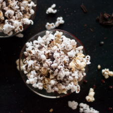 Chili Stovetop Popcorn and Dark Chocolate Recipe