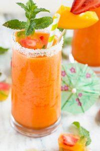 Strawberry Mango Agua Fresca Recipe
