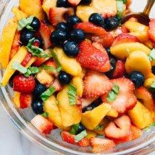 Summertime Fruit Salad Recipe