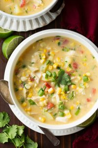 Thai Coconut Chicken Corn Chowder Recipe