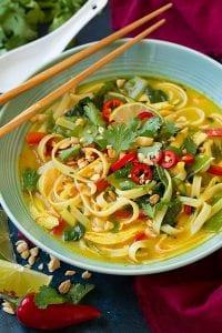 Thai Coconut Curry Chicken Soup Recipe