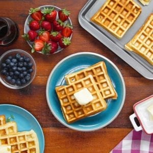 The Ultimate Waffle Recipe