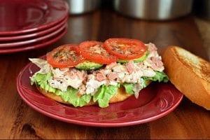 Toasted Turkey and Ham Sandwich Recipe