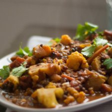 Tomato and Lentil Curry Recipe