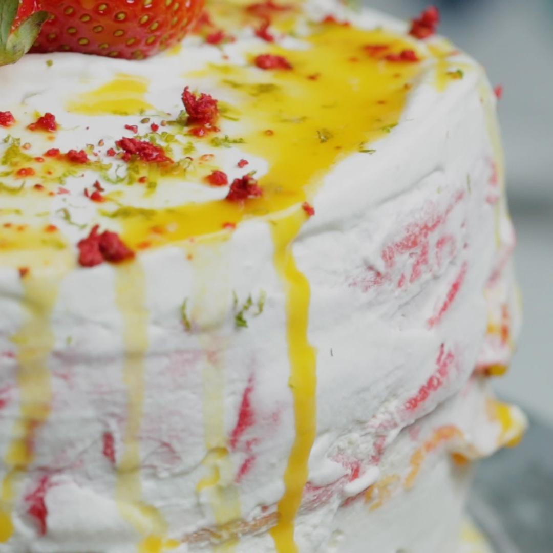 Tropical Crepe Cake Recipe