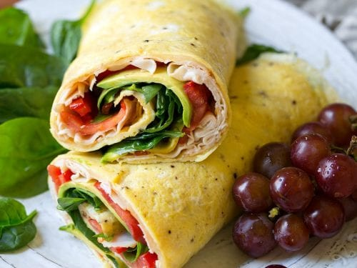 turkey avocado egg wrap recipe